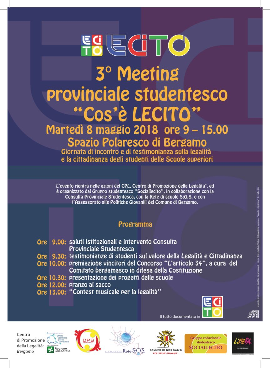 "MEETING provinciale studentesco ""Cos'è Lecito"""